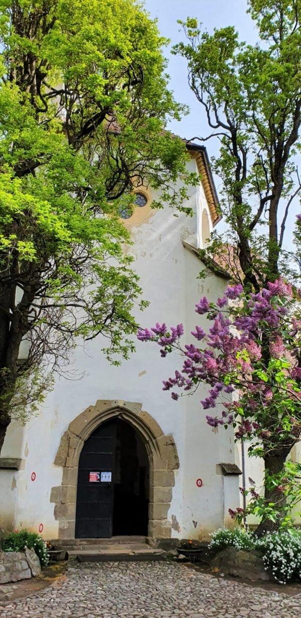 Cetatea bisericească din Prejmer este unul din dintre cele mai importante monumente istorice medievale din Transilvania. Ridicare bisericii a fost începută de Odinul Cavalerilor Teutoni în anul 1218. După alungarea Ordinului de către regele ungar Andrei al II-lea, înălțarea bisericii a fost continuată în stilul goticului timpuriu burgund, un stil arhitectural pe care călugării cistercieni l-au introdus în Transilvania în secolul al XIII-lea. În 1240 comunitatea din Prejmer a trecut sub patronajul abației cisterciene din Cârța.